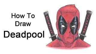getlinkyoutube.com-How to Draw Deadpool