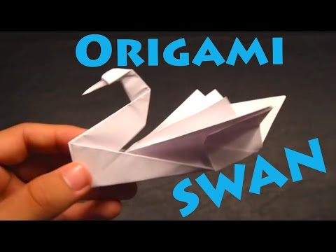 How To Make An Origami Swan intermediate