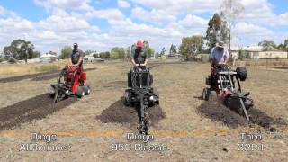 getlinkyoutube.com-Dingo vs Toro Trenching Challenge