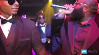 Rick Ross fête le nouvel an dans un Nightclub à Miami