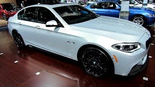 getlinkyoutube.com-2014 BMW 535i xDrive M-Sport Line - Exterior and Interior Walkaround - 2014 New York Auto Show