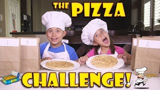 getlinkyoutube.com-PIZZA CHALLENGE with Chef EvanTubeHD! GROSS Secret Recipe!
