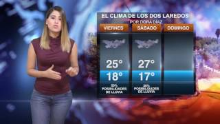 CLIMA VIERNES 10 MARZO 2017