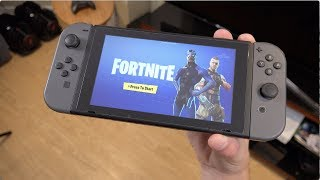 Fortnite On The Nintendo Switch! Gameplay, Comparison, Impressions!