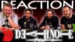 Death Note Episode 19 REACTION!!