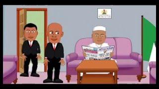 getlinkyoutube.com-Nigerian Interior Minister turns SSS Official to shoe shiner, comedy cartoon