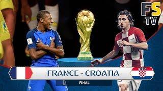 France VS Croatie La Finale : La Croatie va arriver Carbonisée Face à la France