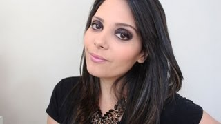 Tutorial de Maquiagem: Preto com Brilho Molhado
