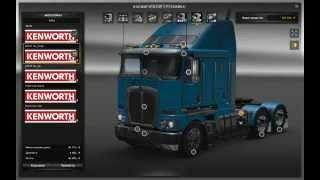 ETS2 Kenworth K200 v3.0 RTA-Mods test