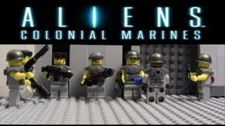 getlinkyoutube.com-LEGO Aliens: Colonial Marines