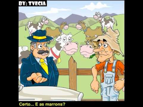 Humortadela - Piada Animada - O Criador de Vacas
