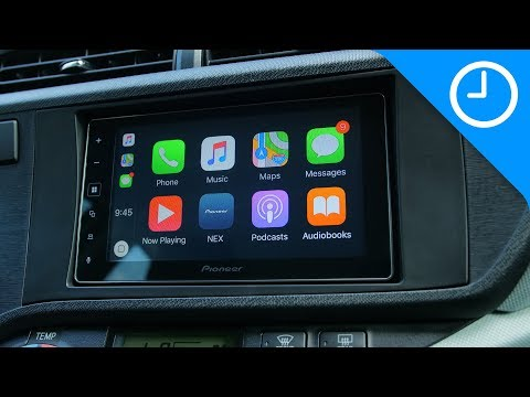 Hands-on: Pioneer MVH-1400NEX CarPlay head unit