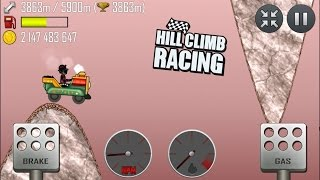 getlinkyoutube.com-Hill Climb Racing: 4411m  Kiddie express / Mars
