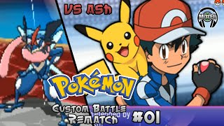 getlinkyoutube.com-Pokemon Battle Rematch 1: Trainer Ash VS Trainer Red
