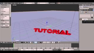 getlinkyoutube.com-TUTO | Blender - Faire un intro 3D