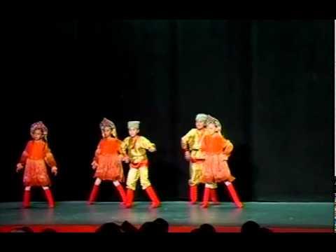 El Cascanueces, Danza rusa - Efel Danse México, 2010