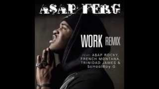 getlinkyoutube.com-A$AP Ferg -  Work REMIX (Clean)