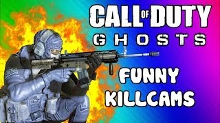 getlinkyoutube.com-COD Ghosts Funny Killcams - Gas Station Kill, Body Launch, LMG Spray, No Scope (Trolling / Funtage)