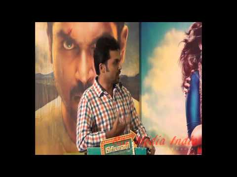 Karthi speaks at Briyani Press Meet