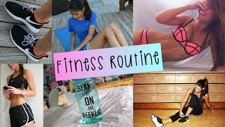 getlinkyoutube.com-My Fitness Routine 2015 + What's in My Workout Bag!