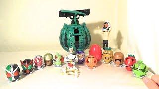getlinkyoutube.com-どれもカッコいい!AC08 仮面ライダー 斬月・真に全部の鎧を着せるとこうなるよ(´ー`)!!