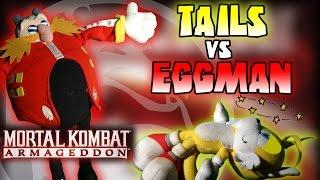 getlinkyoutube.com-ABM: Tails Vs Dr.Eggman !! Mortal Kombat Armageddon!!