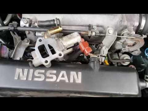 Базовая настройка КХХ (клапана холостого хода) Nissan Primera