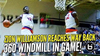 getlinkyoutube.com-Zion Williamson & Chandler Lindsey OutDunk Each Other in Blowout Win! Raw Highlights!
