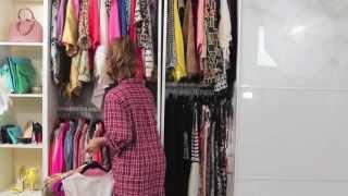 getlinkyoutube.com-Dulce Candy's Closet: Organizing My Clothes