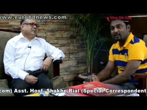 Business Talk Show Regarding Rupayan Uttara City With SH Selim And Faizan Khan By eurobdnews.com