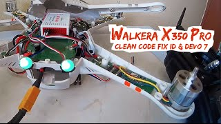 getlinkyoutube.com-Walkera X350Pro BIND CLEAR CODE, FIX ID & Devo 7 & Devo F7