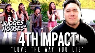 4TH IMPACT - Love The Way You Lie (Rihanna Cover) | The X Factor UK 2015 REACTION!!!