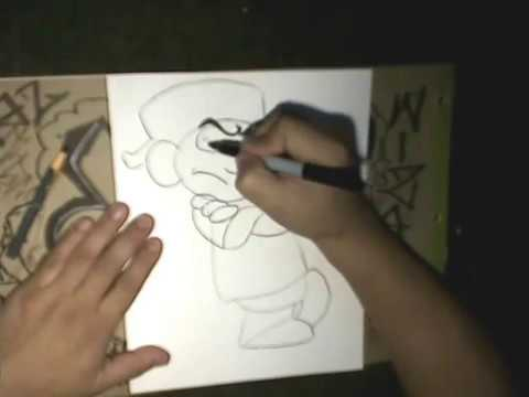 Step by Step Drawing a Smurf - (Drawing Lessons)