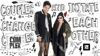 getlinkyoutube.com-Couples Games: Swap Outfits and Imitate Each Other