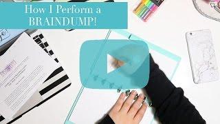 getlinkyoutube.com-How I Perform a BRAINDUMP!
