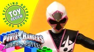 getlinkyoutube.com-Power Rangers Ninja Steel White Ranger - Play with Toys