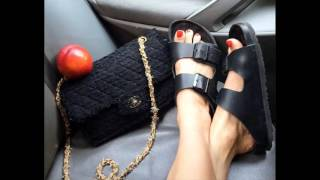 getlinkyoutube.com-Chic Ways to Wear Birkenstock Sandals for Summer