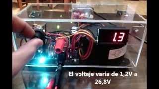 getlinkyoutube.com-Diseño y Montaje Fuente de alimentación casera regulable 1,2V - 27V  y 3A