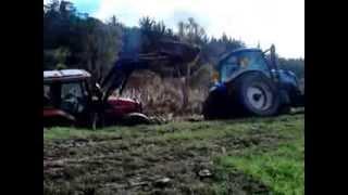 getlinkyoutube.com-tractor stuck nz lolz