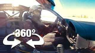 Ride Along With Aaron! It's Mega Race in Virtual Reality (360 Video)