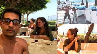 Amrita Arora Holiday In Goa 2018  With Husband And Kids