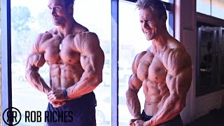 getlinkyoutube.com-MASSIVE Shoulder Workout | Mike O'Hearn & Rob Riches