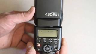 getlinkyoutube.com-Canon 430EX II Speedlite Flash