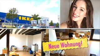 getlinkyoutube.com-Umzugs-Vlog ♥ WOHNUNGSTOUR, Möbel kaufen...