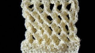 getlinkyoutube.com-Crochet : Punto Tridimensional