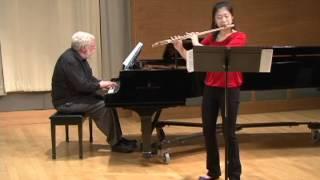 getlinkyoutube.com-Ibert Flute Concerto, Mvt. 3 - Annie Wu, flute