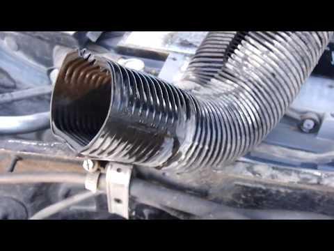 Расположение радиатора печки в Ауди A4