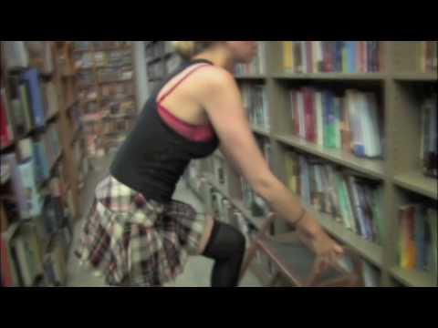 Sexy librarian strip