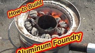 getlinkyoutube.com-How to Build an Aluminum Foundry!