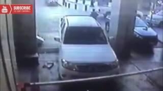 Rekaman CCTV Detik2 Ledakan Bom Madinah Arab Saudi